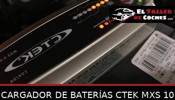 Cargador De Baterías Ctek Mxs 10