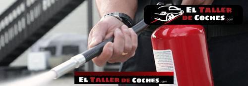 extintor para coche con remolque