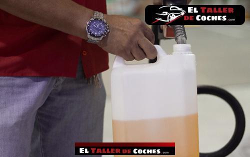 garrafa de gasolina para motosierra