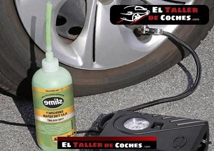 kit de reparacion de pinchazos coche