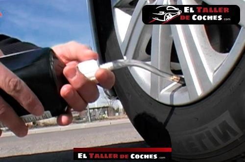 kit reparacion de pinchazos para coche
