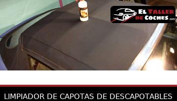 Limpiador De Capotas De Descapotables