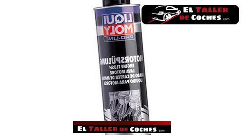 limpiador de motor para cambio de aceite