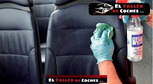 limpiar asientos de cuero auto