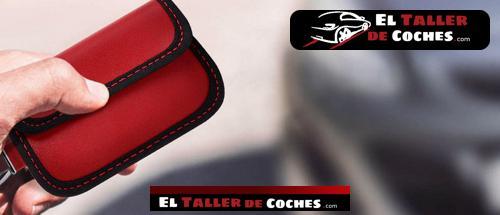llaveros bolsa anti RFID para coche
