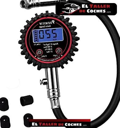 manómetro presión de neumáticos michelín