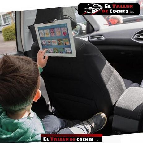 soporte central de tablet para coche