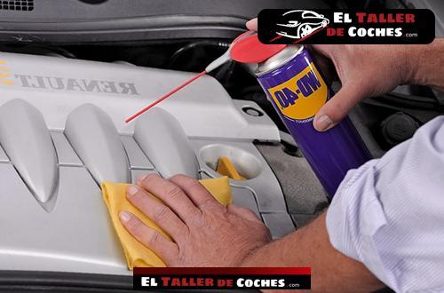 spray para limpiar inyectores