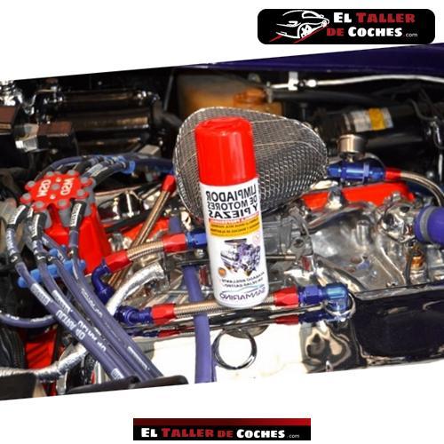 spray para limpieza de motor