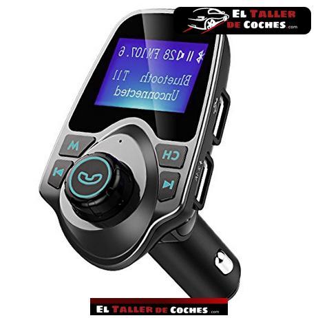transmisor fm por bluetooth para coche